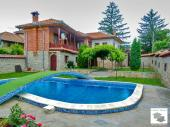 Recently renovated, luxury furnished house with a swimming pool, located in the mountain village of Mindya, 18 km away from Veliko Tarnovo