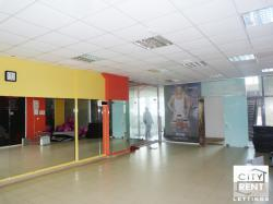 Fitness club in a trade complex, for rent, located in the centre of Veliko Tarnovo