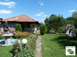 Spacious two-storey semi-detached house in a quiet area with beautiful nature in the village of Novo Gradishte