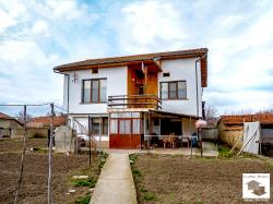Newly-built two-storey house in the village of Klimentovo, close to mineral springs