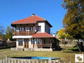 Newly built three-bedroom house with a pool and BBQ in an attractive mountainous village, 30 km from Veliko Tarnovo
