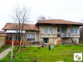Two-storey house with big, flat yard in the village of Rusalya, ony 15 minutes away from Veliko Tarnovo