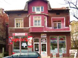 Office space for rent facing main street in the top center of Veliko Tarnovo