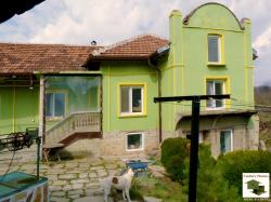Fully renovated and furnished, two-storey house in the village of Petko Slaveikov, 10 km away  from the nearest town