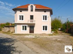 Renovated two-storey house with local heating in the village of Novo selo only 15 km away from Veliko Tarnovo