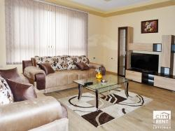 Luxury furnished two-bedroom apartment for rent located in the top center of Veliko Tarnovo