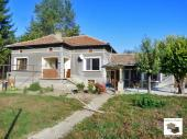 Partly furnished house on two levels in a well-developed village, 5 km from the nearest town