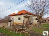 Partly renovated two-storey house in the village of Burya, 30 km away from Veliko Tarnovo