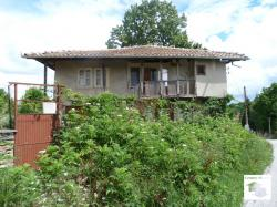 Two-storey house with flat yard in the picturesque village of Kereka