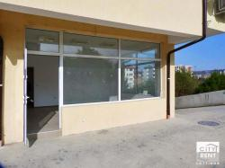 Commercial space for rent in a new building in well-developed district in Veliko Tarnovo