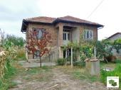 Two-storey house with a big yard in a well-developed village Kutsina not far from the town of Veliko Tarnovo