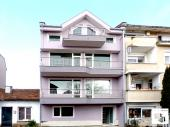 Southern apartment with a lovely panoramic view in a newly built residential building in Kartala district