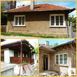 Three houses on one plot close to the top centre of Gorna Oryahovitsa