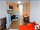 Furnished one-bedroom apartment in a newly built closed complex, near a main boulevard