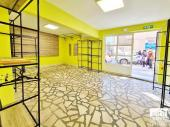 Shop for rent with excellent location located near the Cooperative Market of Veliko Tarnovo